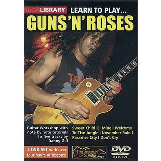 Roadrock International Lick library - Guns N´Roses Learn to play (Guitar), DVD Product Image
