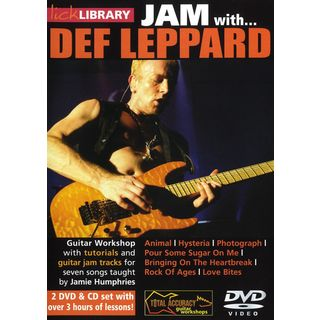 Roadrock International Lick Library: Jam With Def Leppard DVD, CD Εικόνα προιόντος