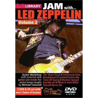 Roadrock International Lick Library: Jam With Led Zeppelin 2 DVD, CD Изображение товара