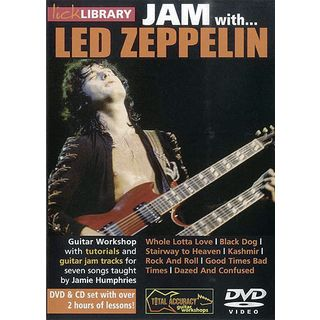 Roadrock International Lick Library: Jam With Led Zeppelin DVD, CD Изображение товара