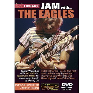 Roadrock International Lick Library: Jam With The Eagles DVD, CD Изображение товара