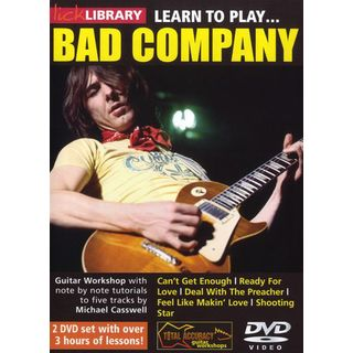 Roadrock International Lick Library: Learn To Play Bad Company DVD Product Image