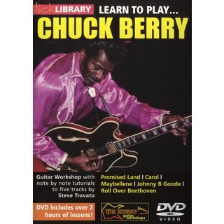 Roadrock International Lick Library: Learn To Play Chuck Berry DVD Изображение товара