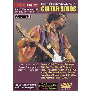 Roadrock International Lick Library: Learn To Play Classic Rock Guitar Solos 2 DVD Εικόνα προιόντος