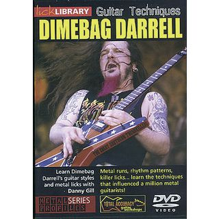 Roadrock International Lick Library: Learn To Play Dimebag Darrell DVD Εικόνα προιόντος