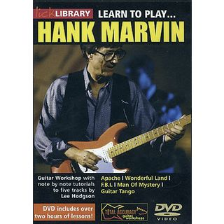 Roadrock International Lick Library: Learn To Play Hank Marvin DVD Изображение товара