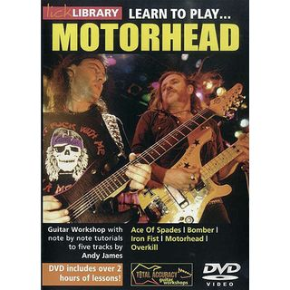 Roadrock International Lick Library: Learn To Play Motorhead DVD Изображение товара