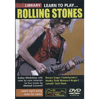 Roadrock International Lick Library: Learn To Play Rolling Stones DVD Product Image