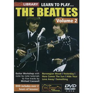 Roadrock International Lick Library: Learn To Play The Beatles 2 DVD Изображение товара