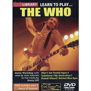 Roadrock International Lick Library: Learn To Play The Who DVD Изображение товара