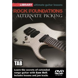 Roadrock International Lick Library: Rock Foundations Alternate Picking DVD Изображение товара