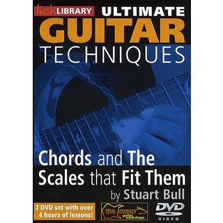 Roadrock International Lick Library: Ultimate Guitar Techniques - Chords And The Scales That Fit Them Εικόνα προιόντος