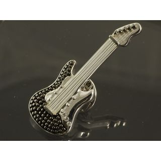 Rockys Pin E-Guitar silver plated Product Image