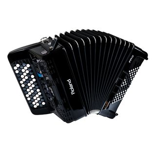 Roland FR-1XB Button-Type V-Accordion Black Product Image