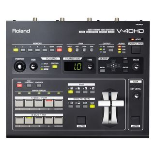 Roland V-40 HD Multi-Format Live Video Switch Product Image