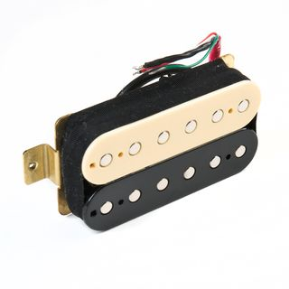 Roswell Pickups HBBC-B4 Hot Link Humbucker Bridge Zebra Product Image