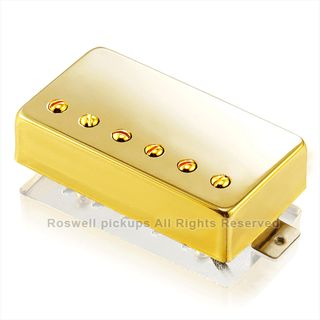 Roswell Pickups LAF-B Alnico V Humbucker Bridge Gold Product Image