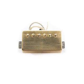 Roswell Pickups LVS-N Alnico II Neck Humbucker (Brushed Gold) Product Image