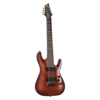 Schecter Omen 8 WS Walnut Stain Product Image