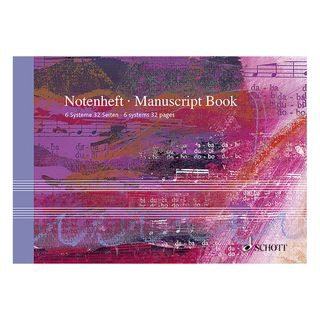 Schott Music Notenheft DIN A5 Product Image