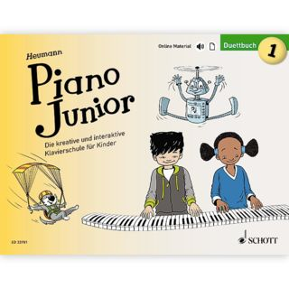 Schott Music Piano Junior: Duettbuch 1 Product Image