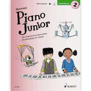Schott Music Piano Junior: Duettbuch 2 Product Image