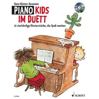 Schott Music Piano Kids im Duett Hans-Günter Heumann, Buch/CD Product Image