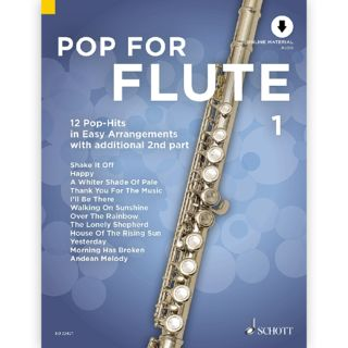 Schott Music Pop For Flute 1 Product Image