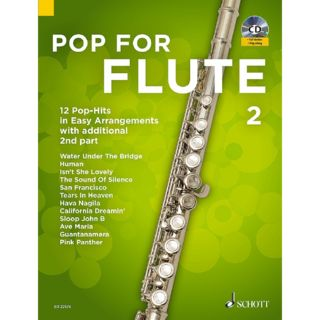 Schott Music Pop For Flute 2 Product Image