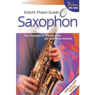 Schott Music Praxis-Guide Saxophon Pinksterboer, Hugo Product Image
