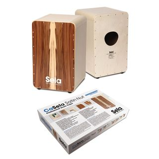 Sela CaSela Cajon Satin Nuss, Building Kit Product Image