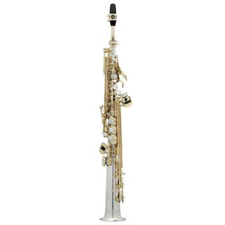 Selmer SE-S3MS Bb-Soprano Saxophone Series III, Silver Product Image