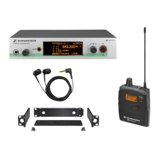 Sennheiser ew 300 IEM-E G3, 823-865MHz Wireless Monitor Set Produktbild