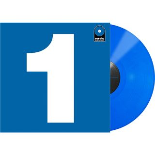 "Serato 7"" Performance Series Control Vinyl (Blue) Product Image"