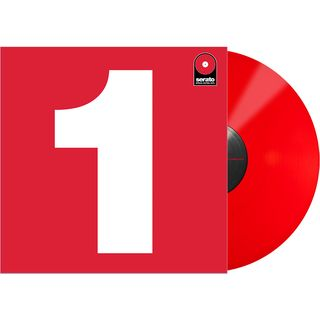 "Serato 7"" Performance Series Control Vinyl (Red) Product Image"