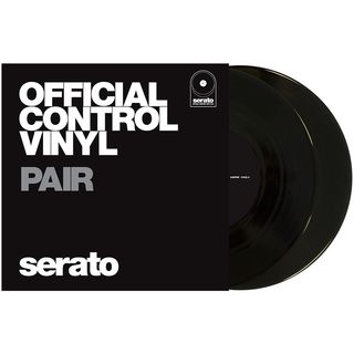 "Serato 7"" Performance Series Control Vinyl x2 (Black) Product Image"