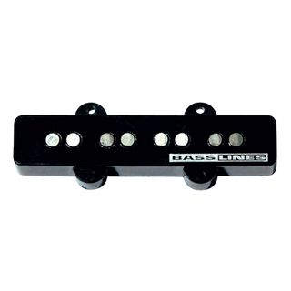 Seymour Duncan SSTK-J2B BLK Hot Jazz Stack Bridge Black 4-phase Immagine prodotto