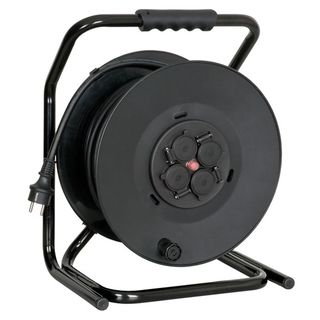 Showtec Cable Drum with 50m Rubber Cable 3x - 2.5mm3 Product Image