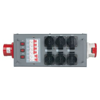 Showtec Split-Power 32 CEE 32 Split mit Sicherungen Product Image