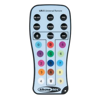 Showtec UR-5 Universal IR Remote Product Image