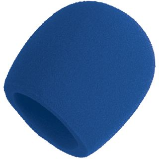 Shure A58WS-BLU Windshield in Blue    Product Image