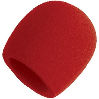 Shure A58WS-Red Windshield in Red    Product Image