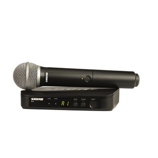 Shure BLX24E/PG58 T11, 863-865MHz Wireless Handheld System Product Image