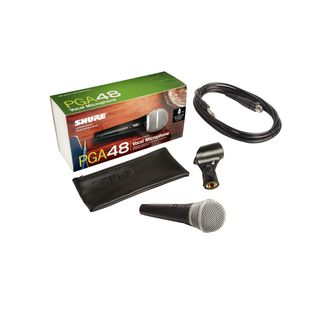 Shure PGA48-QTR Microphone 4.5m Jack-Cable Product Image