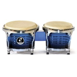 "Sonor Champion Mini Bongos CMB45BBHG 4""&5"", Blueburst Product Image"