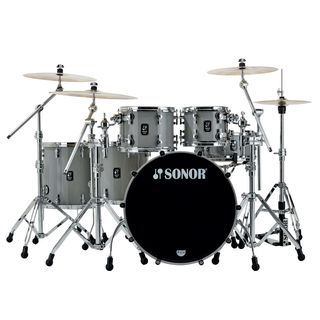 Sonor ProLite PL SSE Stage S ShellSet Solid Lite Grey Limited Edition Produktbild