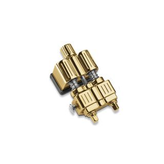 Sonor Snare Butt End Dual Glide Sys. Gold Product Image
