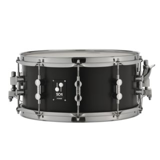 "Sonor SQ1 Snare Drum 14""x6,5"" GT Black Product Image"