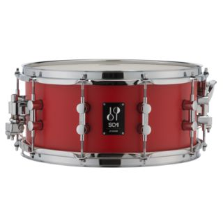"Sonor SQ1 Snare Drum 14""x6,5"" Hot Rod Red Product Image"
