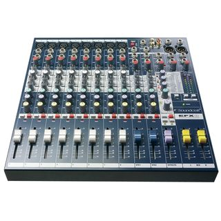 Soundcraft EFX8 Multi-Purpose Mixer with Lexicon Effects Product Image